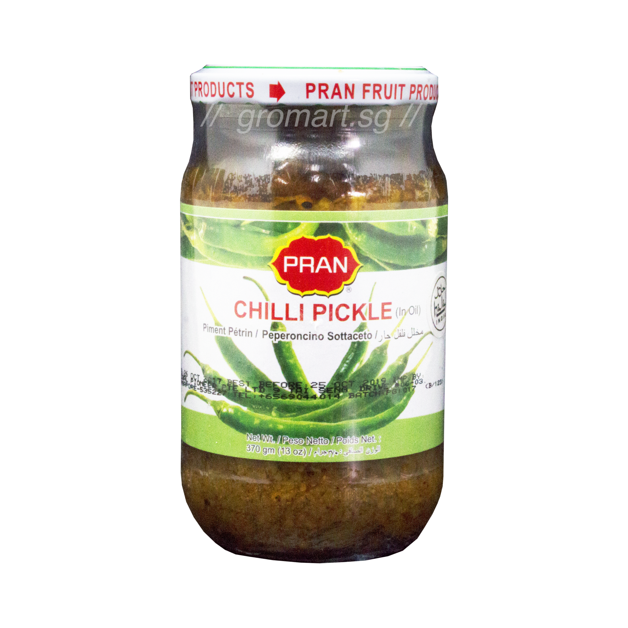 Online Grocery Delivery Pran Chilli Pickle - 13 Oz